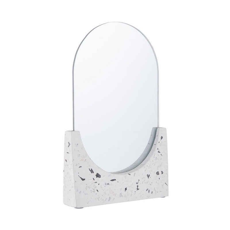 BUTLERS Kosmetikspiegel »TERRAZZO Standspiegel L 16 x H 25cm«