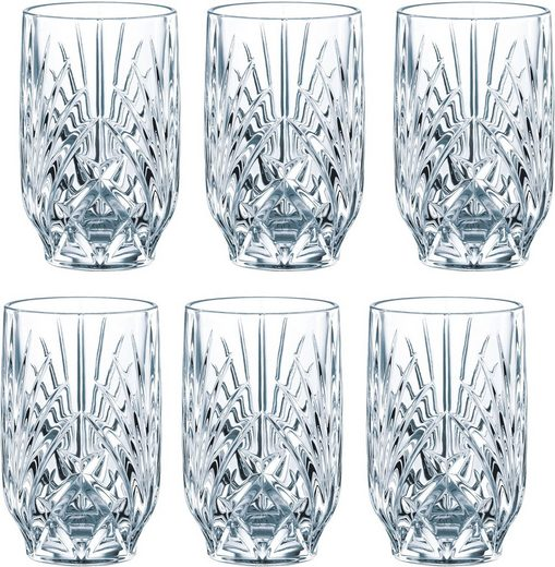 Guido Maria Kretschmer Home&Living Gläser-Set »Palais« (6-tlg), Guidos Favorit, Kristallglas, 265 ml