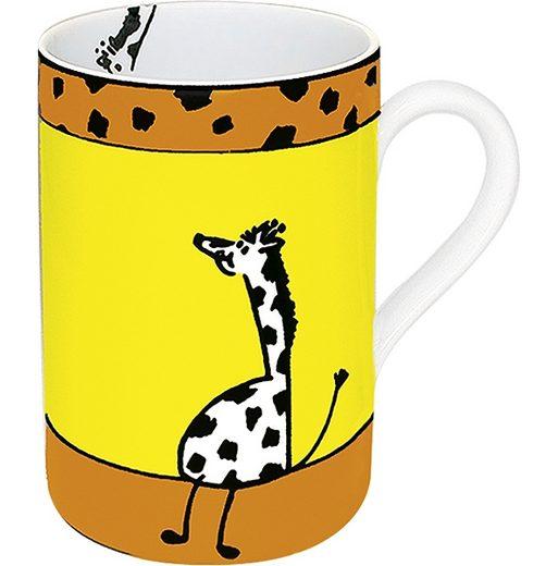 Könitz Becher Tiergeschichten Giraffe
