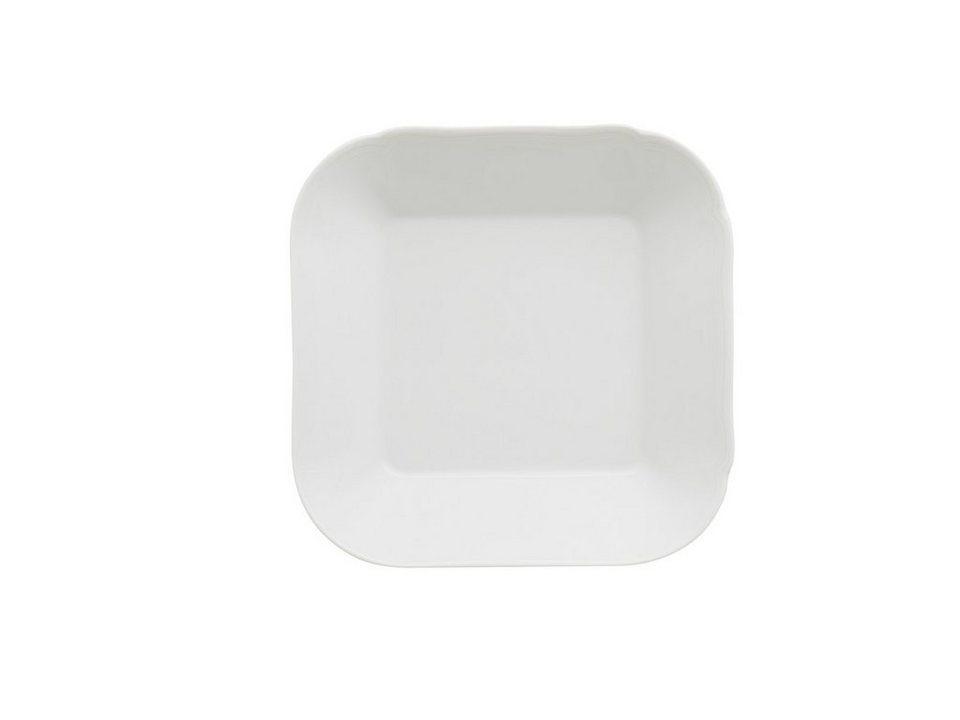 Kahla Schale quadratisch »Centuries Feston Weiß« in Weiß