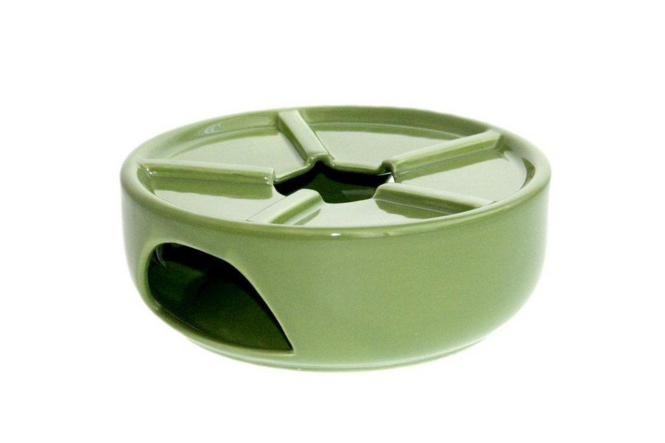 Zeller Keramik Teewärmer »Biene« in Grün