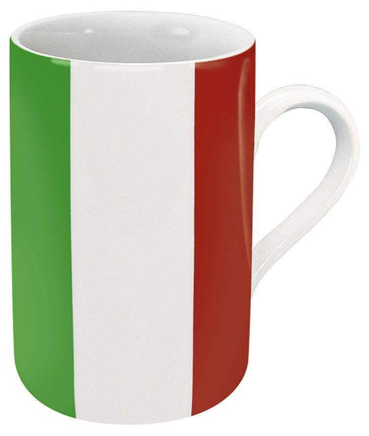 Könitz Becher Italien Flagge in Bunt