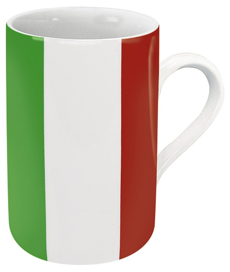 Könitz Becher Italien Flagge