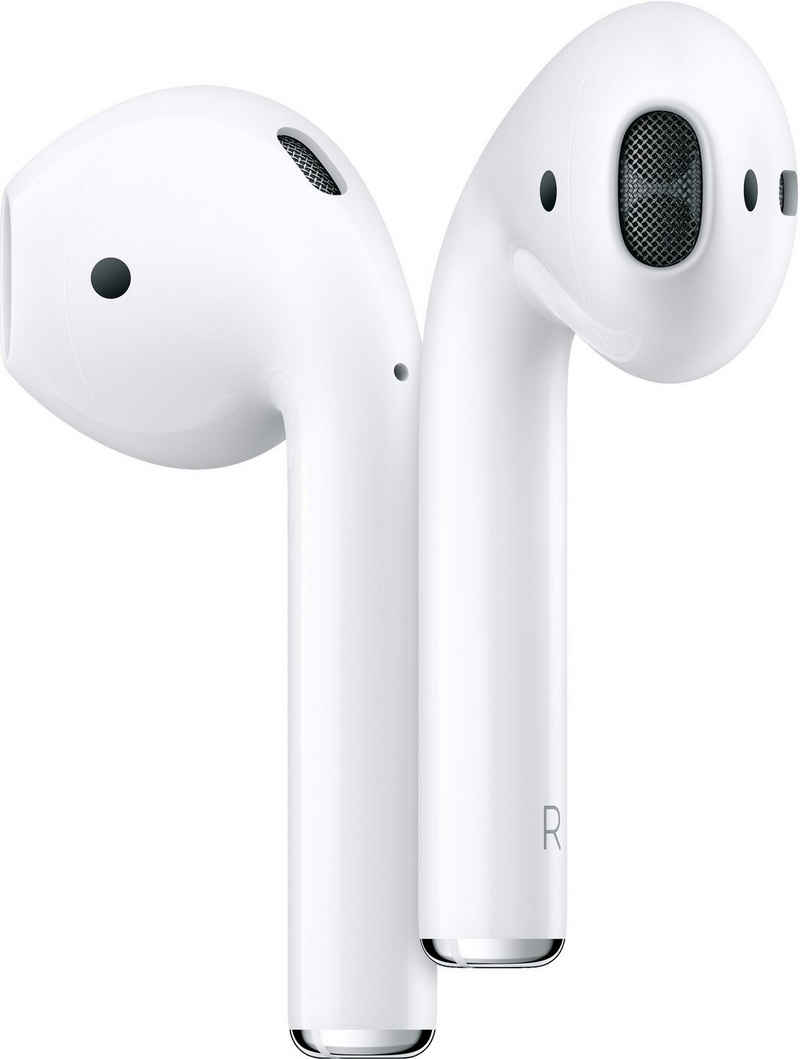 Apple »AirPods with Wireless Charging Case (2019)« In-Ear-Kopfhörer (Sprachsteuerung, True Wireless, Bluetooth, Kompatibel mit iPhone, iPhone XR, iPhone Mini, iPad Air / Mini / Pro, Watch SE, Series 6, Series 5, Series 4, Series 3, Mac Mini, iMac)