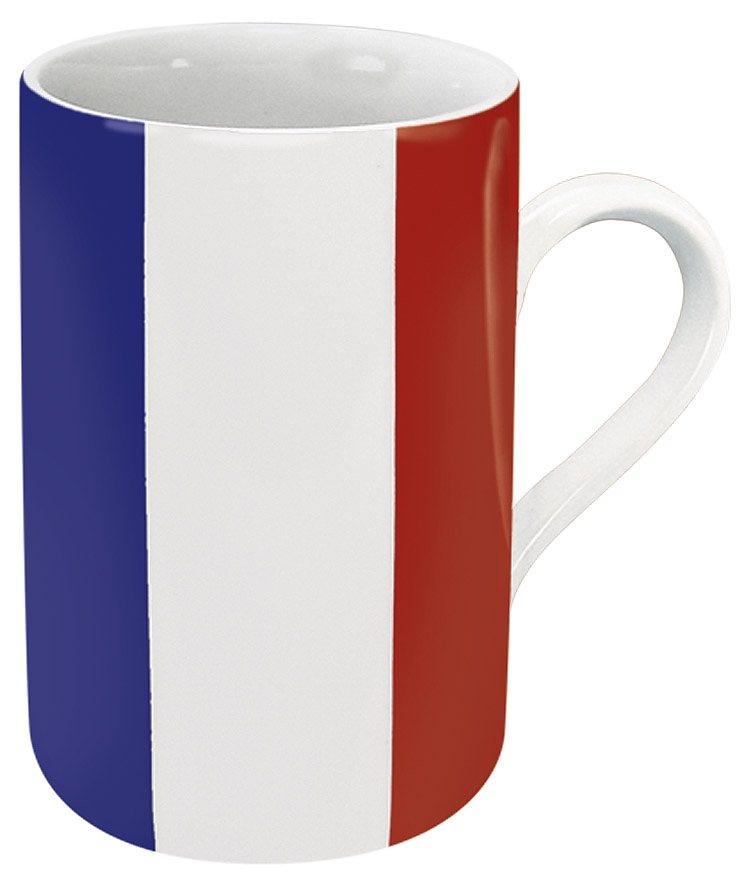 Könitz Becher Frankreich Flagge in Bunt