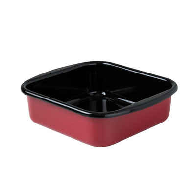 Riess Bratpfanne »Bratrohrpfanne Mini Color-Rot«, Emaille