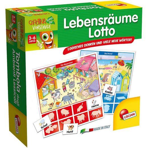 Lisciani Lernspielzeug »Lebensräume Lotto«