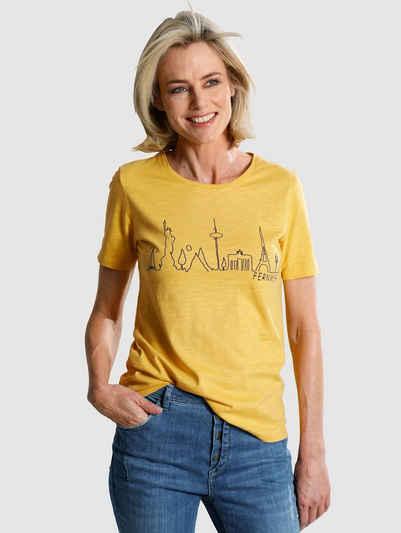 Dress In Print-Shirt mit Frontprint