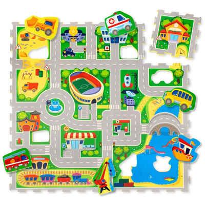 Hakuna Matte Puzzlematte »City«, 16 Puzzleteile
