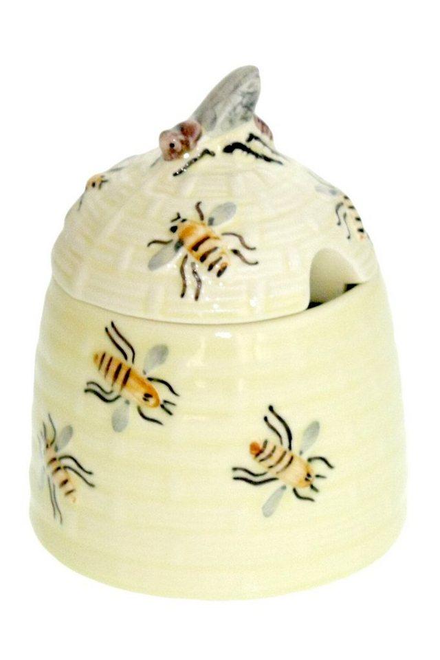 Zeller Keramik Honigdose »Biene« in Mehrfarbig