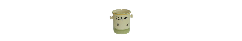 Zeller Keramik Tischrestebehälter »Biene«