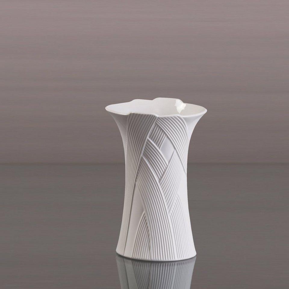 Kaiser Porzellan Vase Hoch »Hacienda« in Weiß