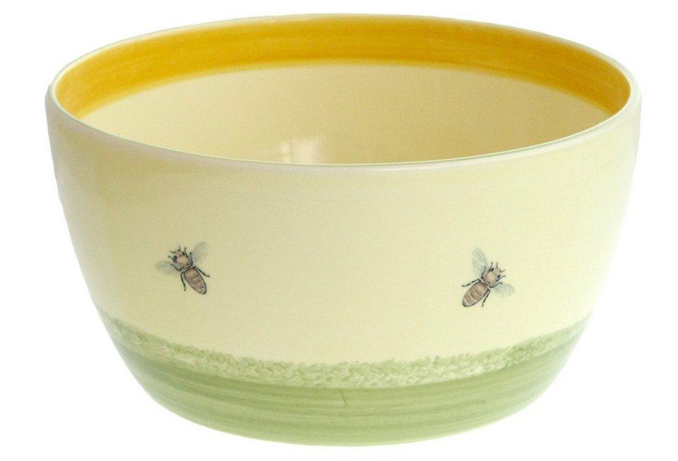 Zeller Keramik Schüssel »Biene« in Mehrfarbig