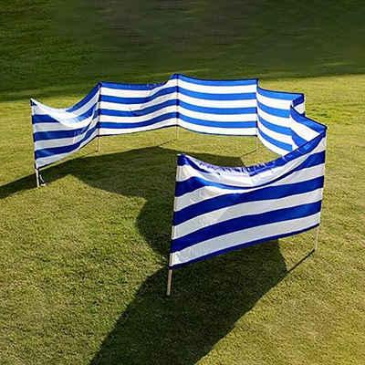 Idena Windschutz »Wind- und Sichtschutz - mit Tragegurt, Fixierungsbändern und Holzstäben zur Verankerung«, 800 x 80 cm