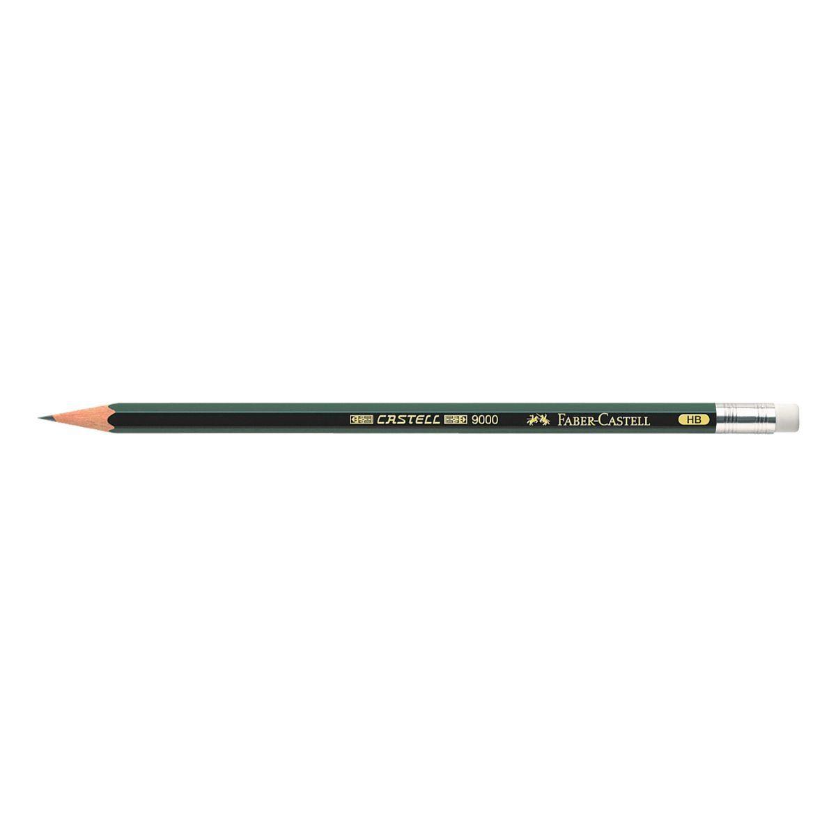 Faber-Castell Bleistift mit Radiergummi »9000«