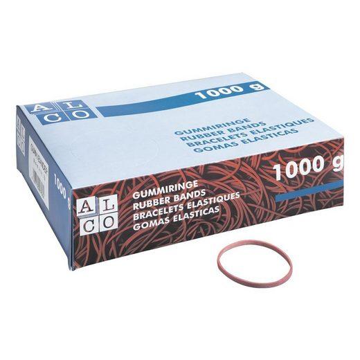 ALCO Gummibänder breit, 500 Stück