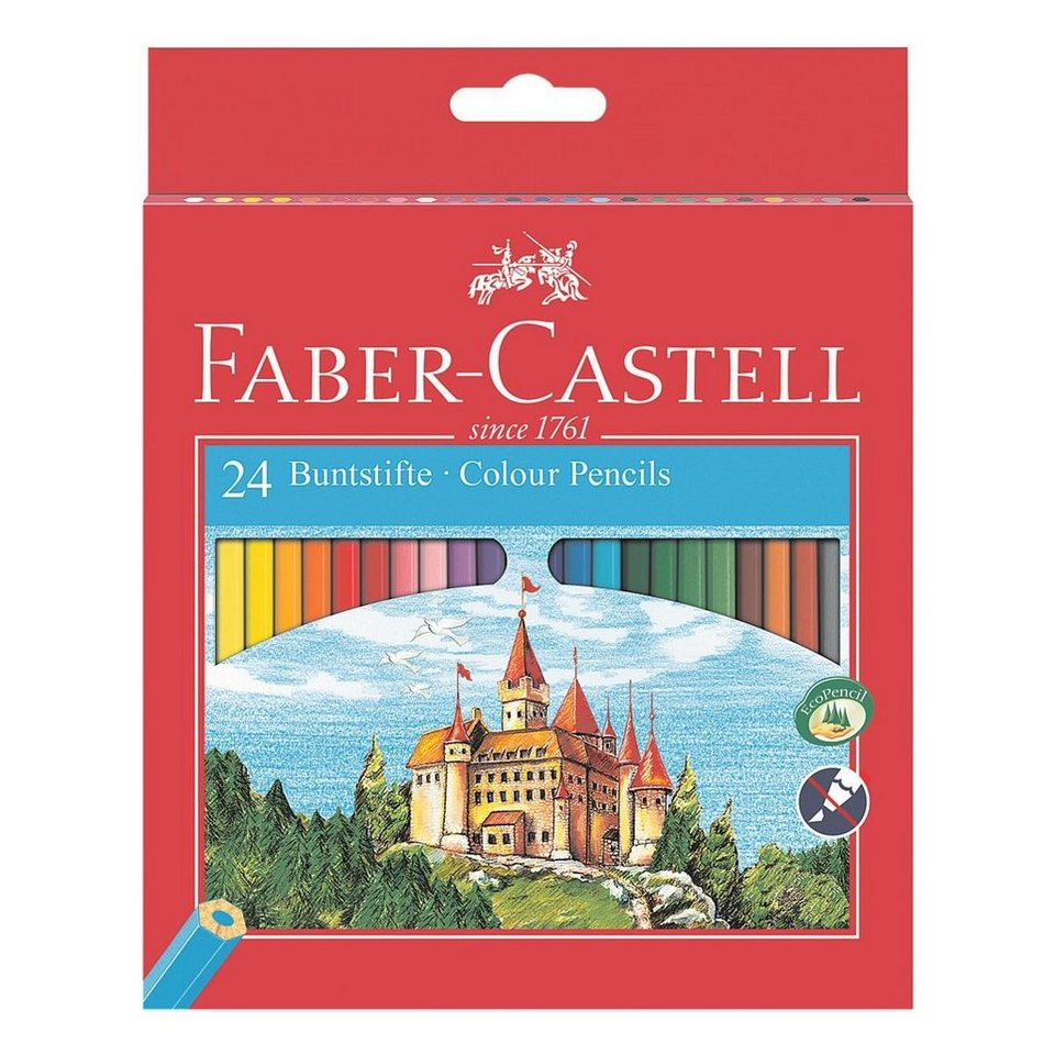 Faber-Castell 24er-Pack Buntstifte »Castle«