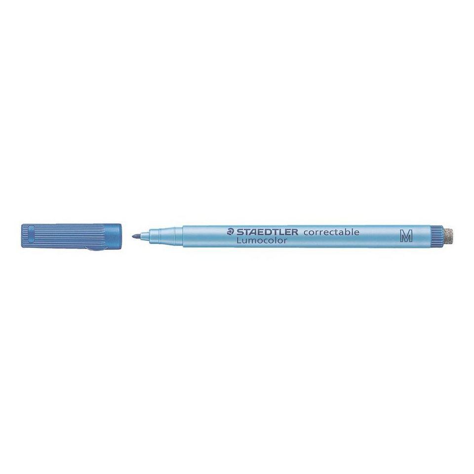 Staedtler Universalstift »Lumocolor correctable« in blau