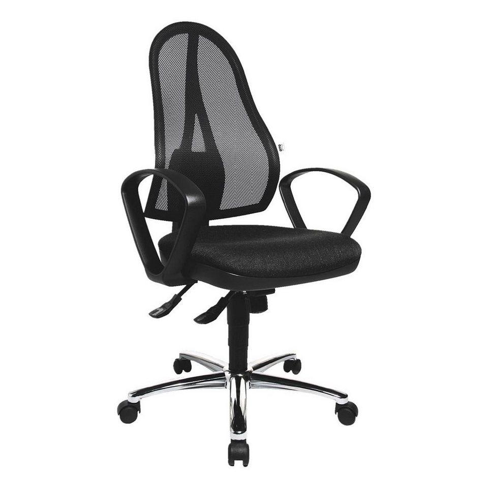 OTTO Office Standard Bürostuhl »Standard« mit Armlehnen in anthrazit