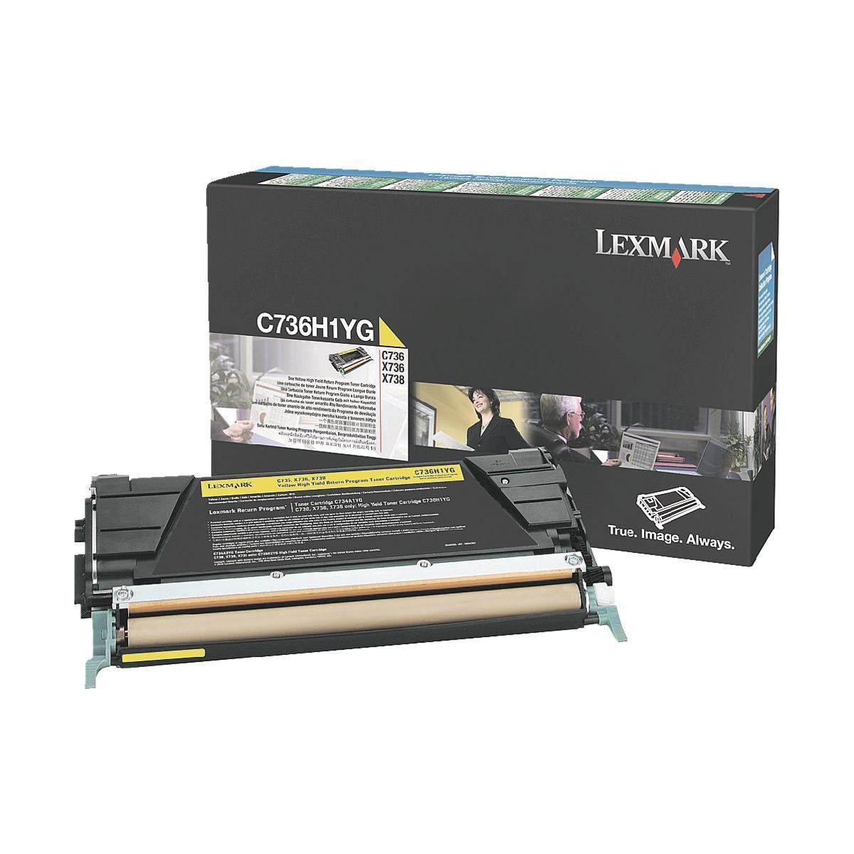 Lexmark Druckkassette »0C736H1YG«