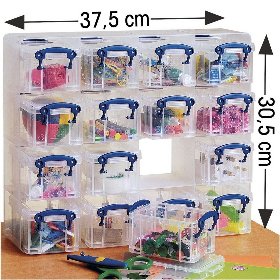 Really Useful Box 16er-Set Ablageboxen