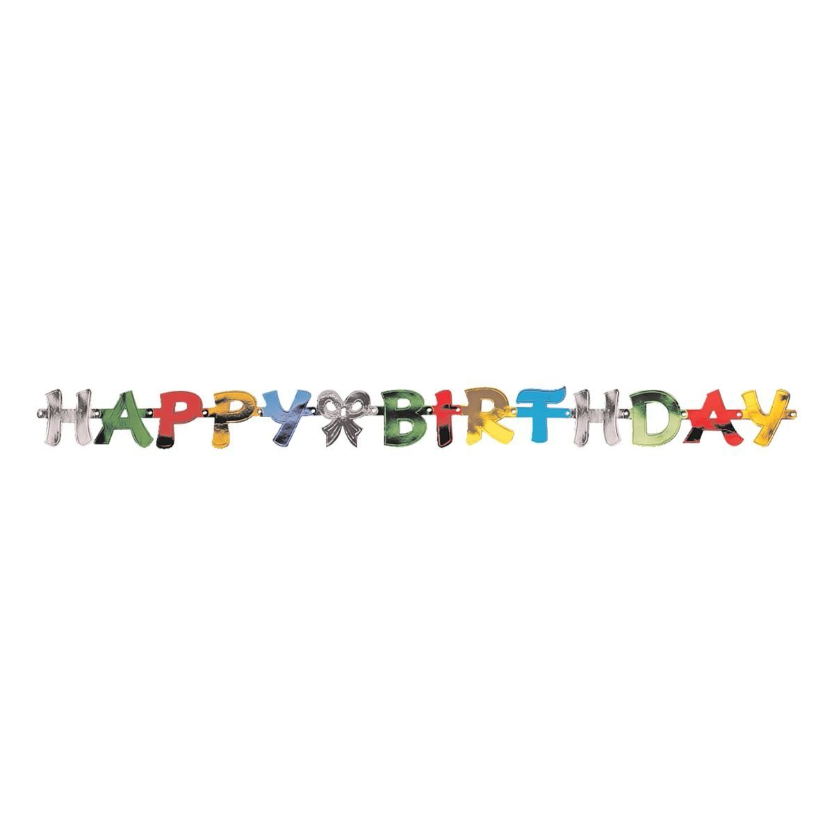 Papstar Papiergirlande »Happy Birthday«