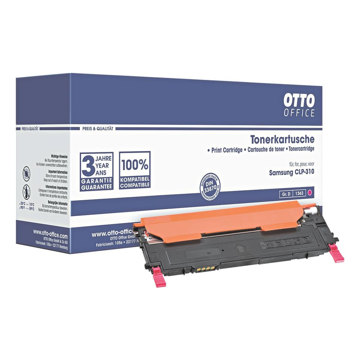 OTTO Office Standard Toner ersetzt Samsung »CLT-M4092«