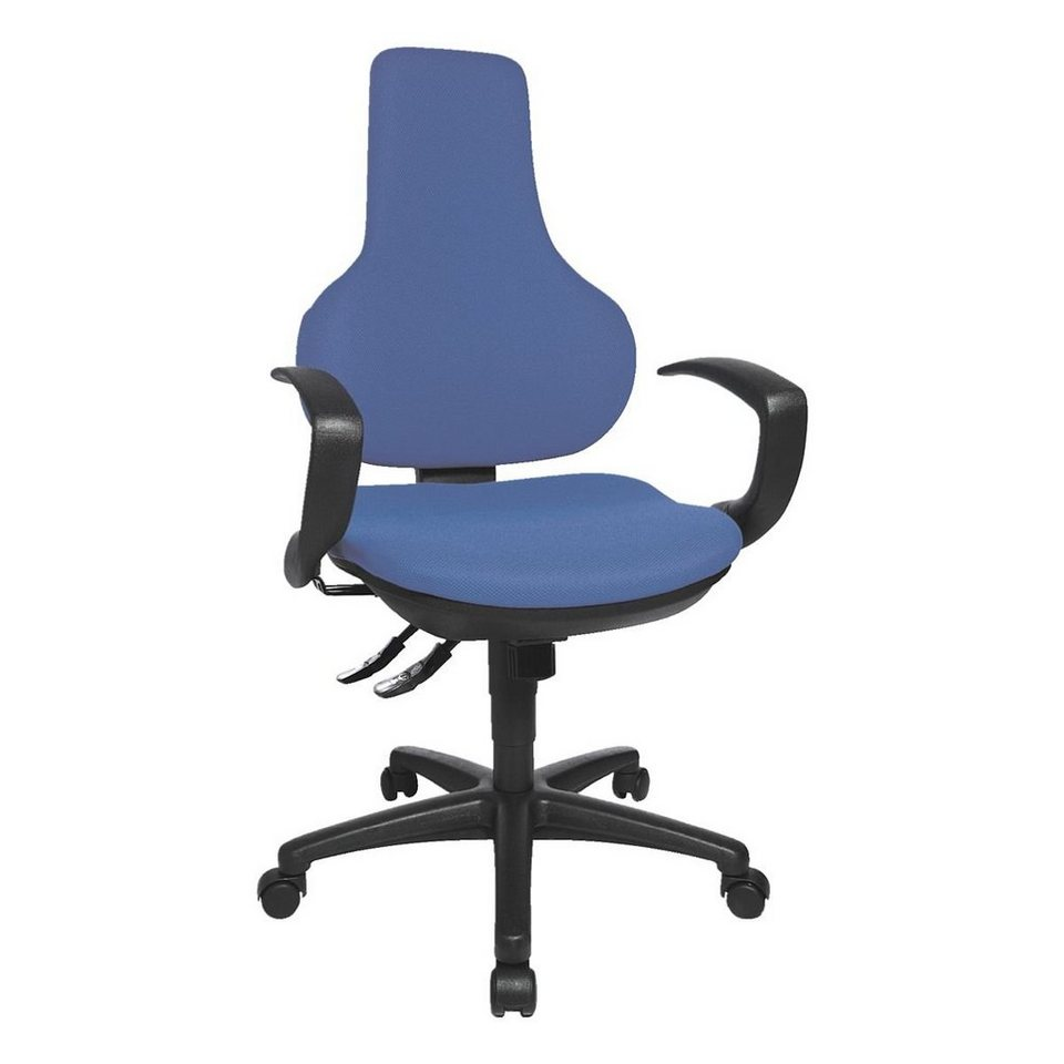 Topstar Bürostuhl »Ergo Point SY« ohne Armlehnen in blau