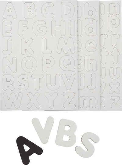 URSUS Magnet »Buchstaben«, 100 Stück