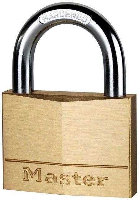 Master Lock Vorhängeschloss, Sicherheitsklasse 6, Messing