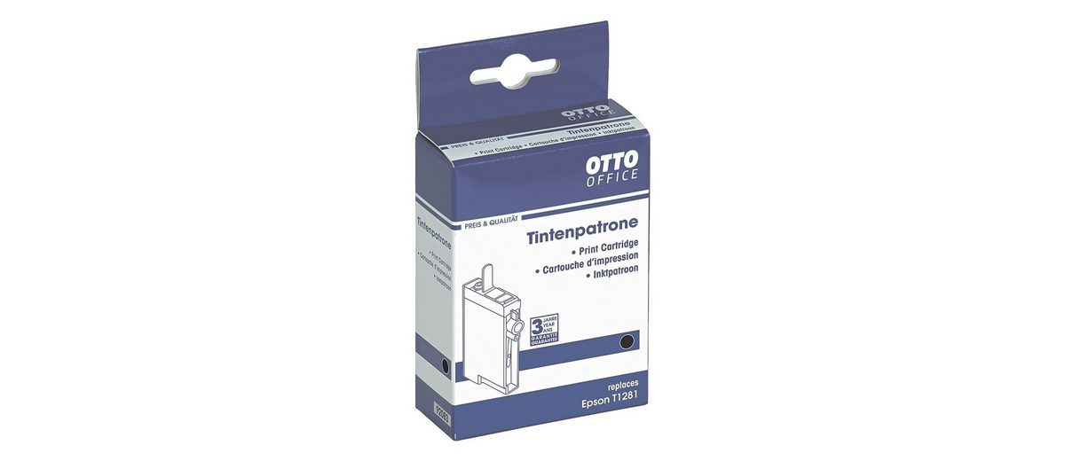 OTTO Office Standard Tintenpatrone ersetzt Epson »T1281«