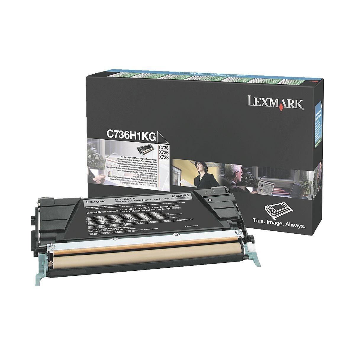 Lexmark Druckkassette »0C736H1KG«
