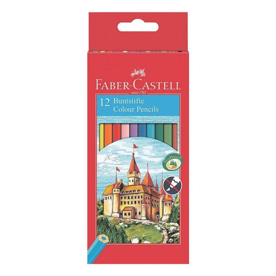 Faber-Castell 12er-Pack Buntstifte »Castle«