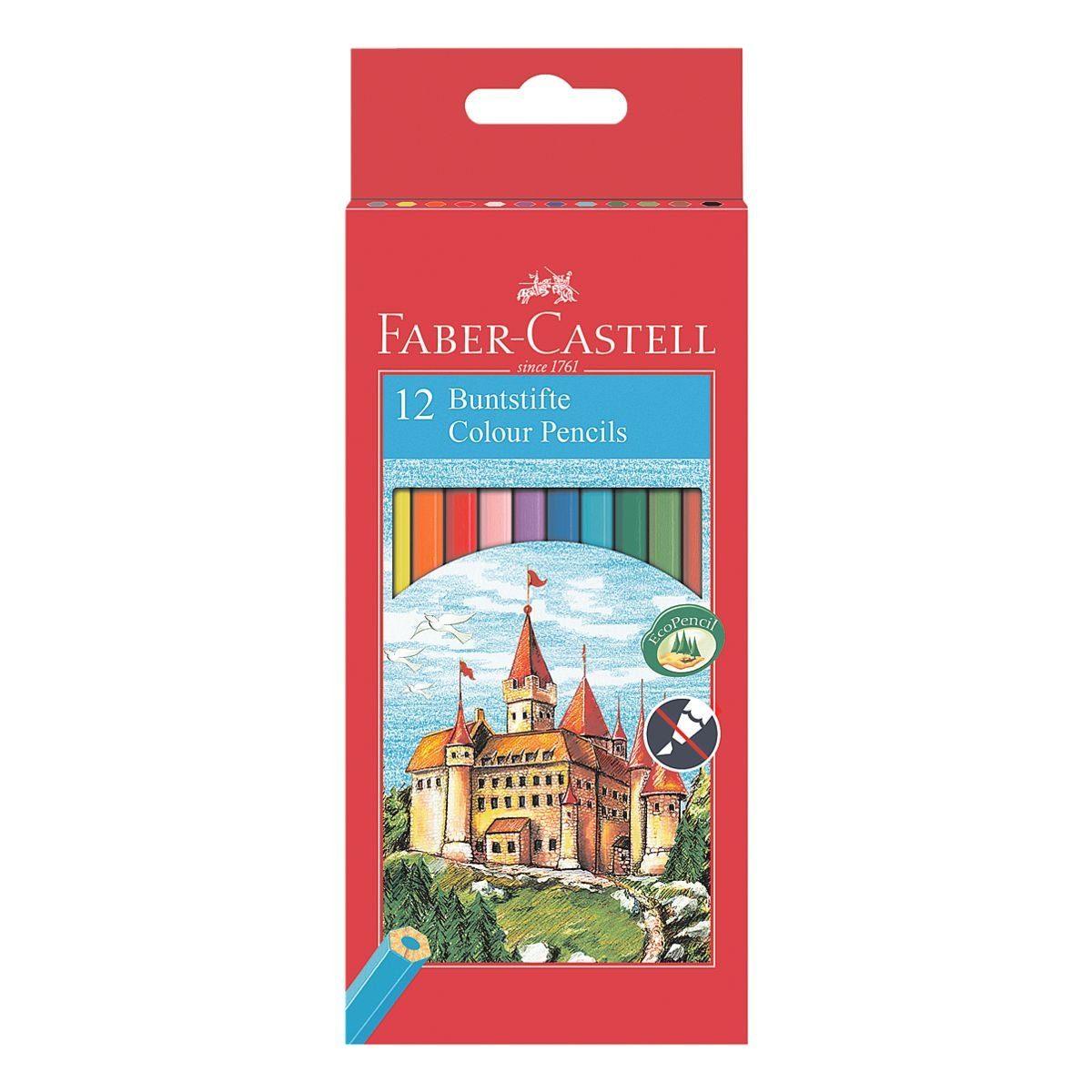 Faber-Castell (Schule) 12er-Pack Buntstifte »Castle«