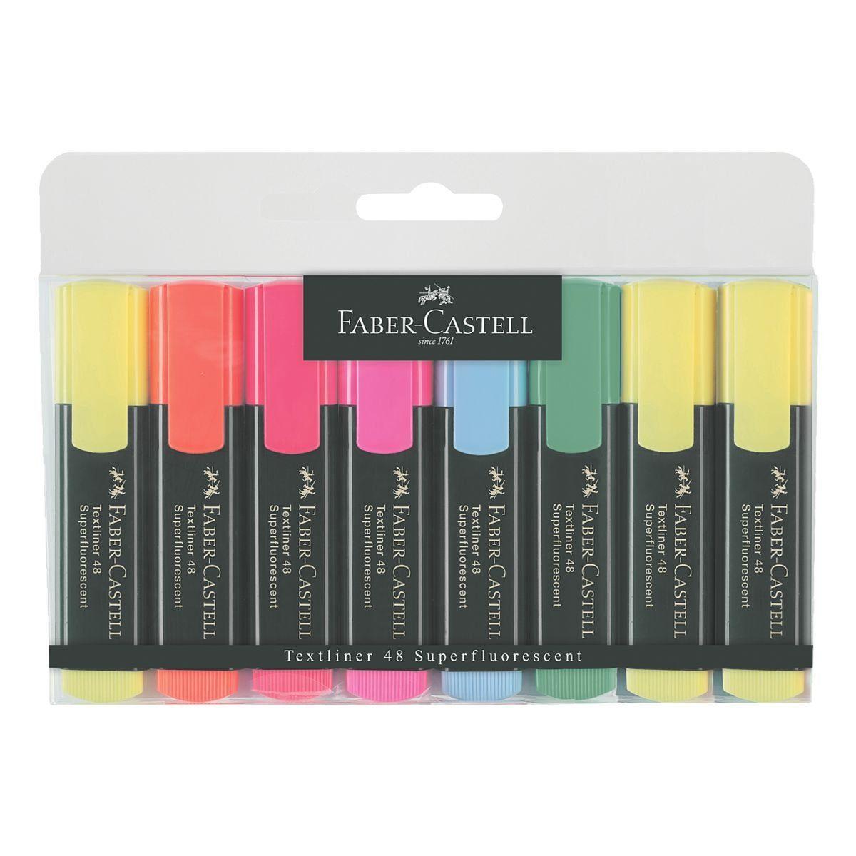 Faber-Castell 8er-Pack Textmarker »Textliner 1548«