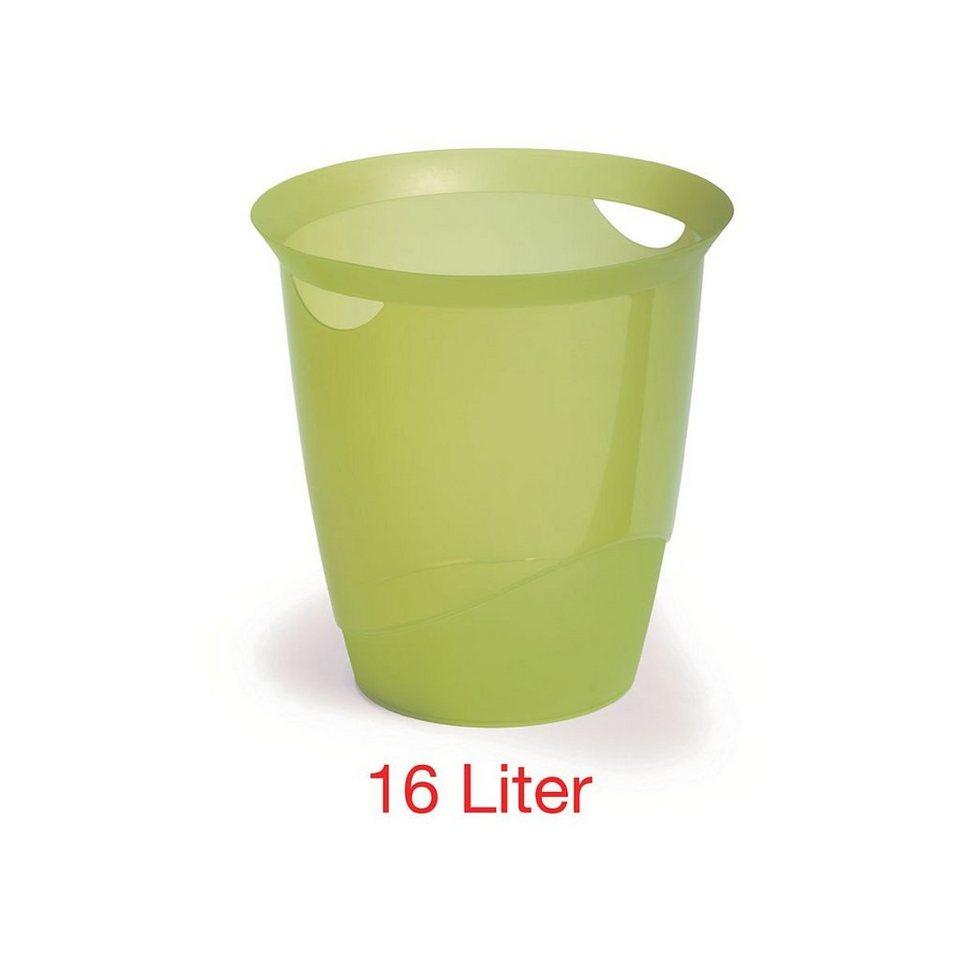 Durable Papierkorb »transluzent« in grün