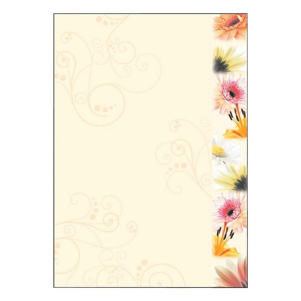 Sigel Motivpapier »Flowerstyle«