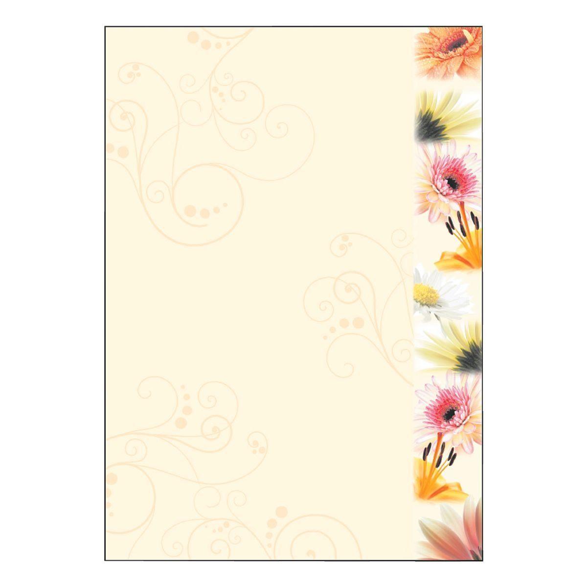 Sigel Motivpapier DP788 »Flowerstyle«