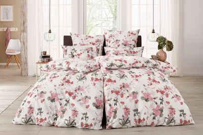 Bettwäsche »Fleur«, Home affaire, mit feinen Blumenmotiven