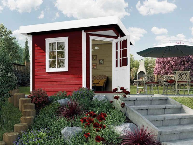 weka Gartenhaus »Designhaus 213 Gr.1«, BxT: 278x278 cm