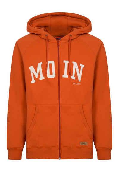 Derbe Sweatjacke »Moin Zip M« Organic Cotton, hochwertige Verarbeitung