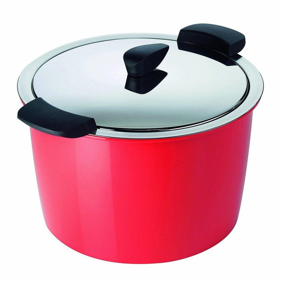 KUHN RIKON Servierkochtopf »Hotpan« in Rot