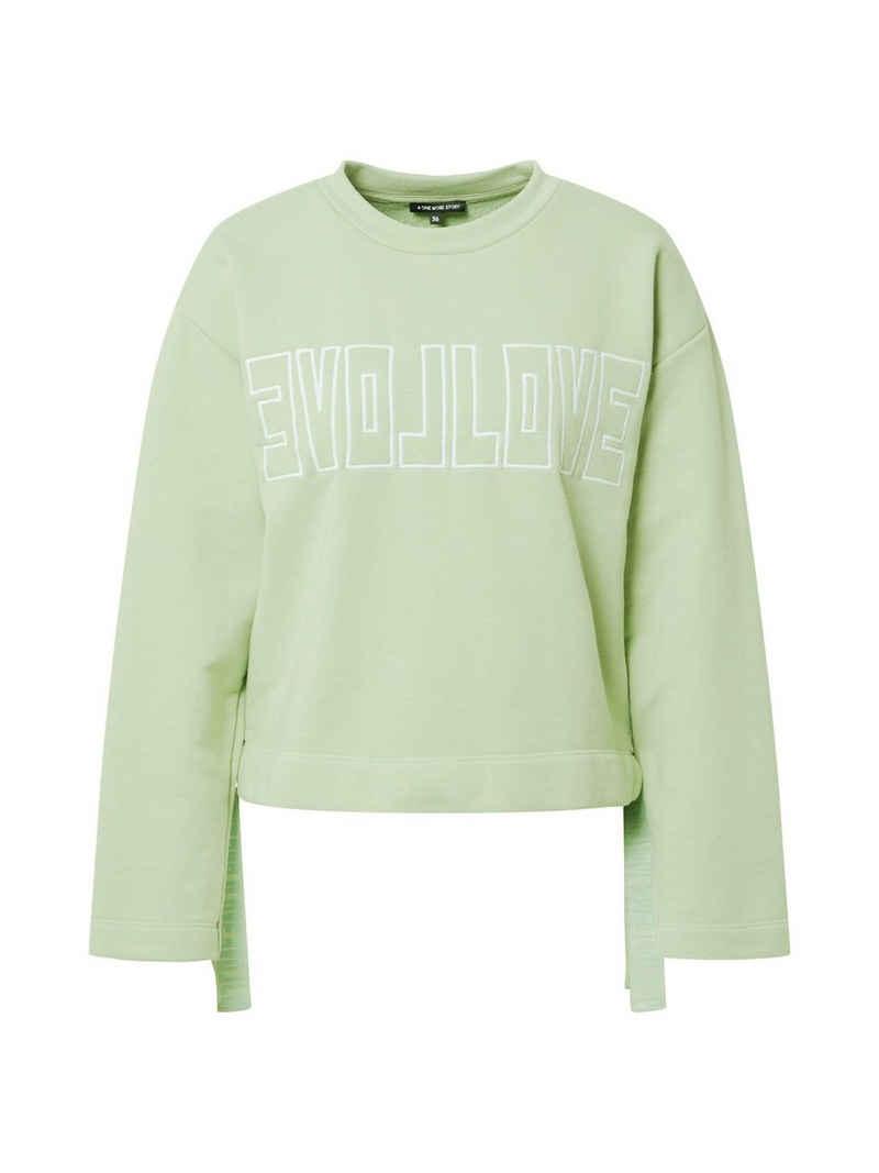 ONE MORE STORY Sweatshirt (1-tlg)