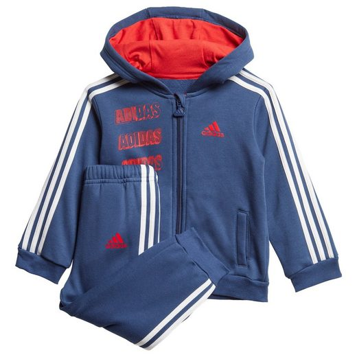 adidas Performance Trainingsanzug »Hooded Fleece Jogginganzug«