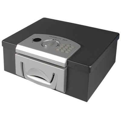 HMF Geldkassette »1006-02«, Elektronikschloss, DIN A4, 32,5 x 25,5 x 12,5 cm