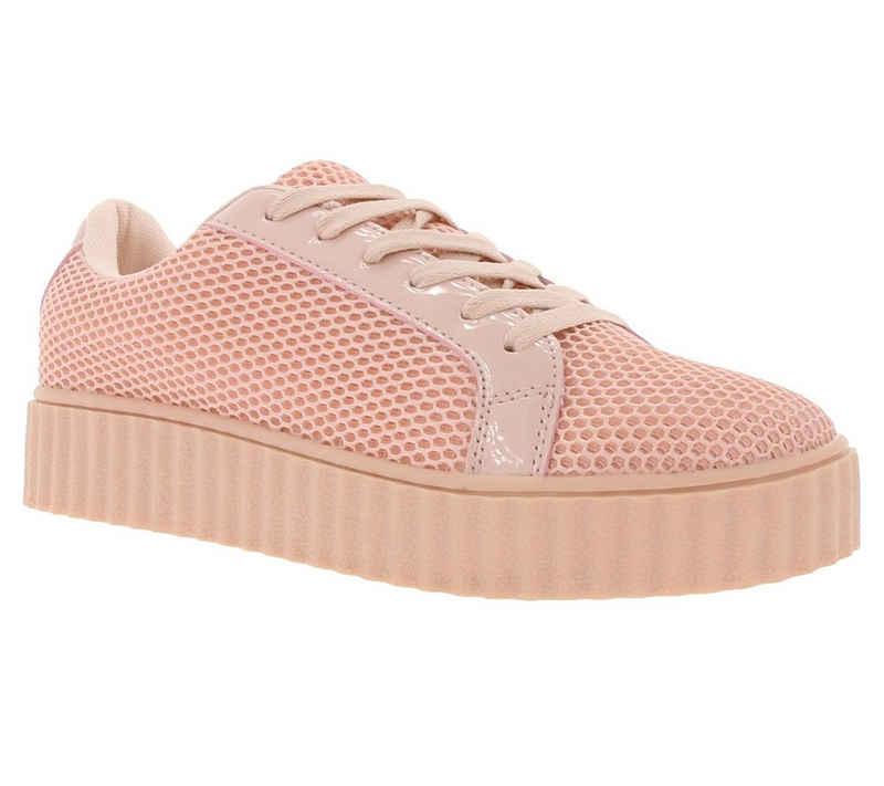 Zapato »ZAPATO EUROPE Plateau Sneaker stylische Damen Schuhe Turnschuhe Rosa« Sneaker