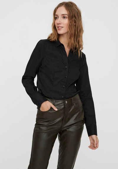 Vero Moda Klassische Bluse »VMLADY LOCK L/S«