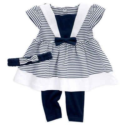 Baby Sweets Kleid & Hose »3tlg Set Kleid + Hose + Mütze« (3-tlg)