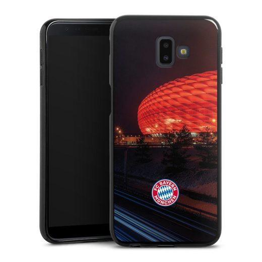 DeinDesign Handyhülle »Allianz Arena bei Nacht FCB« Samsung Galaxy J6 Plus (2018), Hülle FCB Stadion FC Bayern München