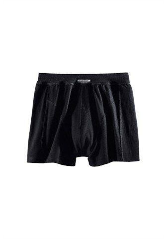 Schiesser Boxer »Bluebird« schlichte Retro Pant in Top Markenqualität in schwarz